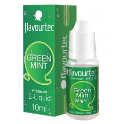 Green Mint e-liquid 10ml Flavourtec