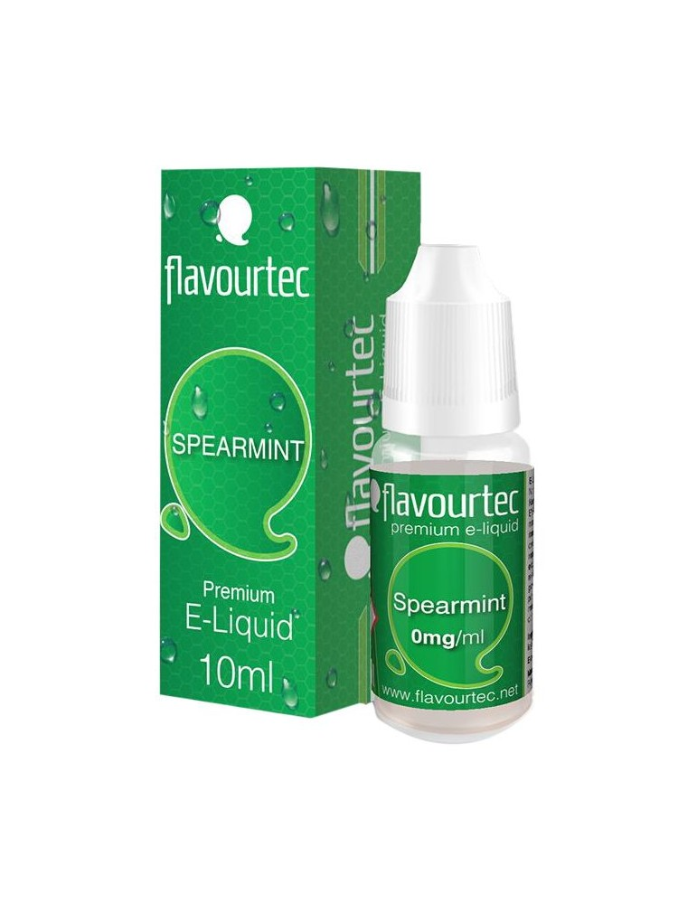 Spearmint e-liquid 10ml Flavourtec
