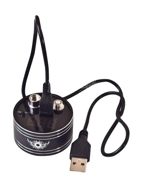 Aparat portabil de măsurare a rezistenței/voltajului pentru atomizoare/baterii