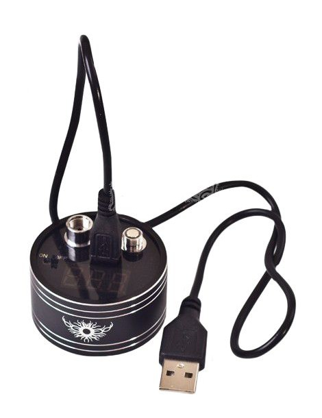 Portable Ohm Meter/Reader for vaporizer/battery