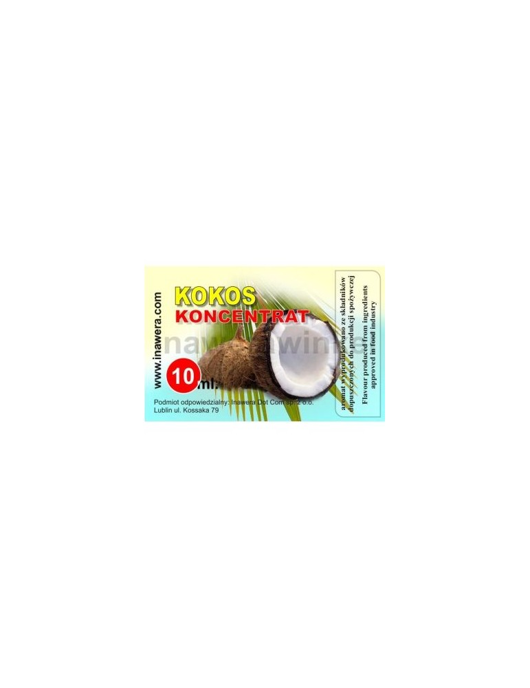 Nuca de Cocos 10ml