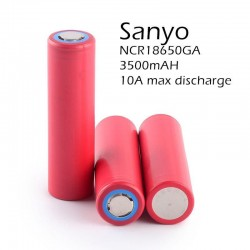 Sanyo NCR18650GA 3.7V 3500mAH Rechargeable Li-ion Battery
