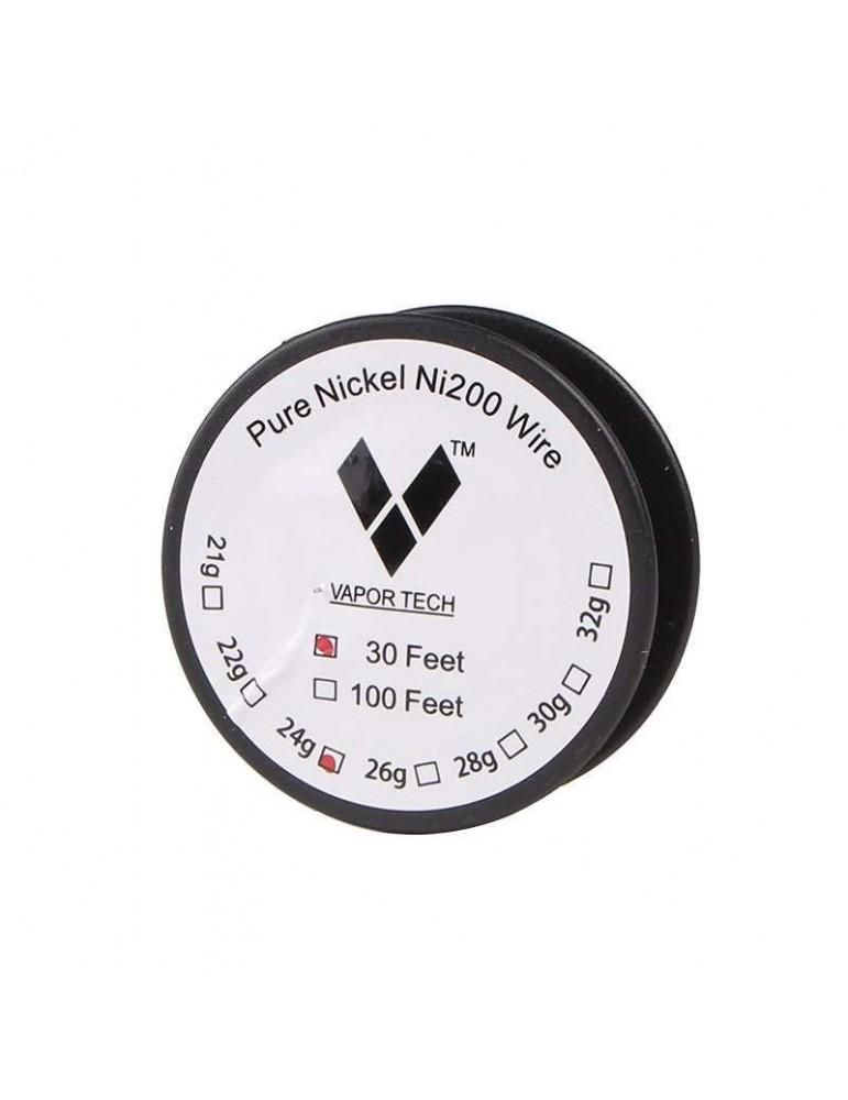 Pure Nickel Coil Ni200 Wire 30 Feet gauge 28