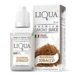Traditional Tobacco 30ml Liqua