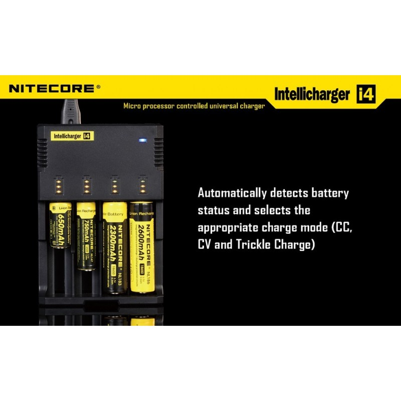 Nitecore i4 Intelligent Charger