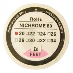 Nichrome resistant 0.8mm wire 20 Gauge - 10 meters