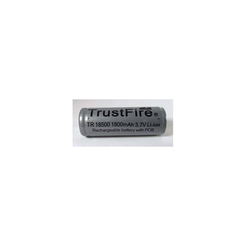 Acumulator Trustfire TR 18500 PCB 1800mAh button top