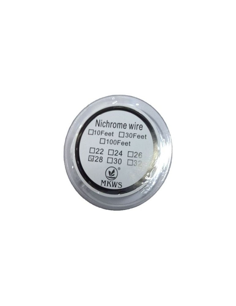 Nichrome resistant 0.4mm wire 26 Gauge - 10 meters