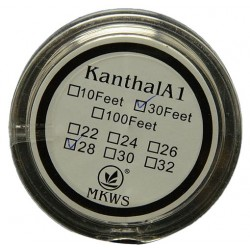 Kanthal A1 resistant 0.4mm wire 26 Gauge - 10 meters