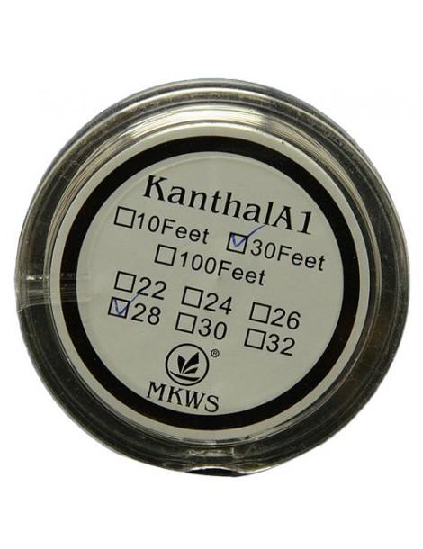 Kanthal A1 resistant 0.4mm wire 26 Gauge - 10 meters