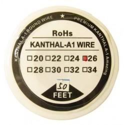 Kanthal A1 sârmă rezistențe diametru 0,4mm rolă 15m