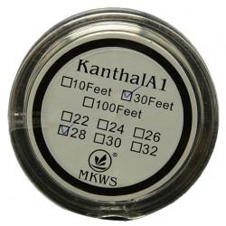 Kanthal A1 sarma rezistente 0.8mm - 10 metri
