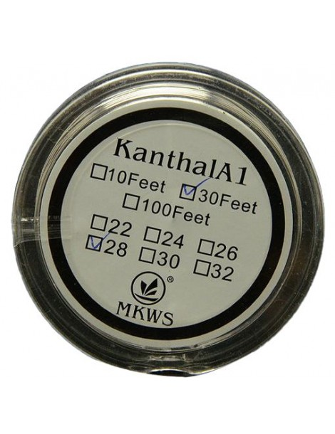 Kanthal A1 resistant 0.64mm wire 22 Gauge - 10 meters