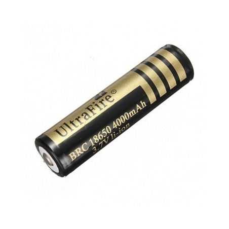 UltraFire BRC 18650 4000mAh 3.7V with PCB button top