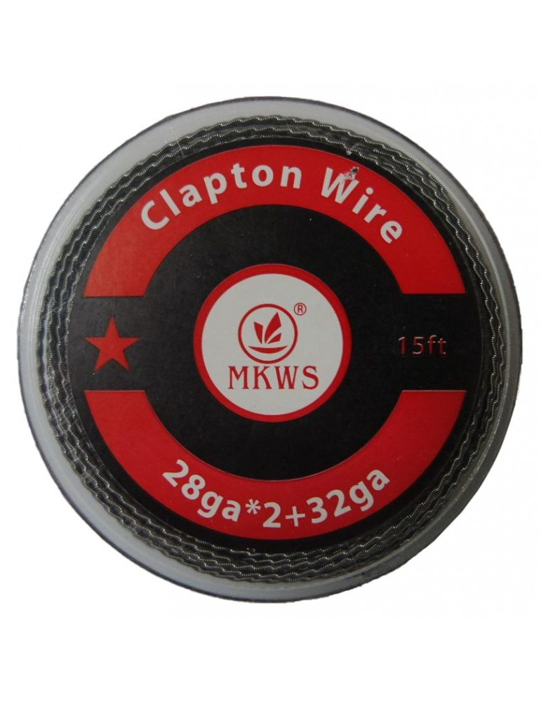Clapton Wire 26Ga+32Ga 15 feet