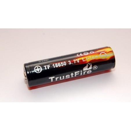 Acumulator Trustfire 18650 cu PCB 3000mAh 3.7V Flat Top