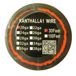 Kanthal A1 resistant 0.8mm wire 20 Gauge - 10 meters