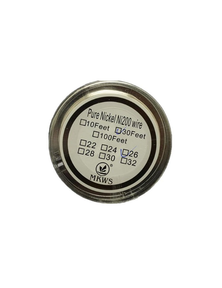Pure Nickel Coil Ni200 Wire 30 Feet gauge 28