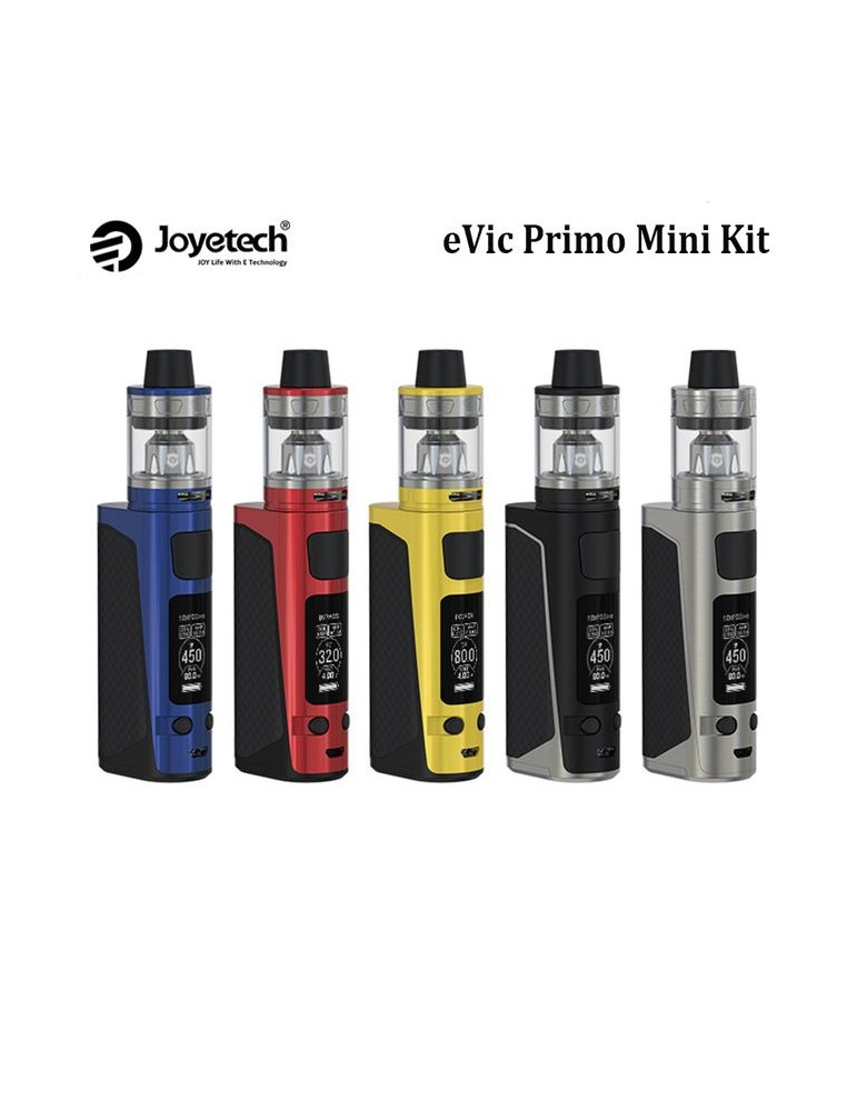 Kit eVic Primo Mini cu atomizor Procore Aries, 80W, Joyetech, Negru