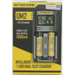 Incarcator Inteligent USB, Nitecore UM2, Mod QC