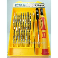 32-in-1 Screwdriver and Tweezer Set (JK 6066-B)