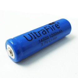 UltraFire TR 14500 1200mAh 3.7V button top battery