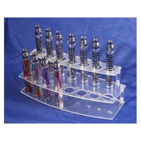 Plastic e-cigarette display stand model 1