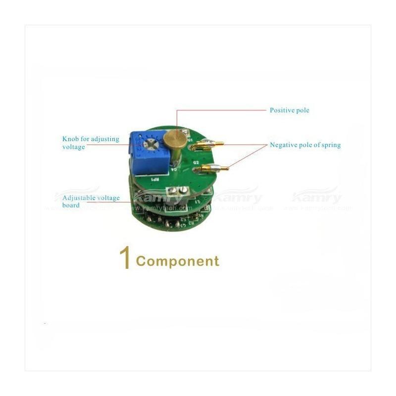Kamry Kick v2 - chip protecție de tensiune ajustabilă 3.0-4.8v