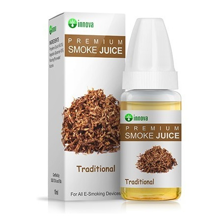 Traditional Tobacco Smoke Juice 10ml Innova VG+PG liquid