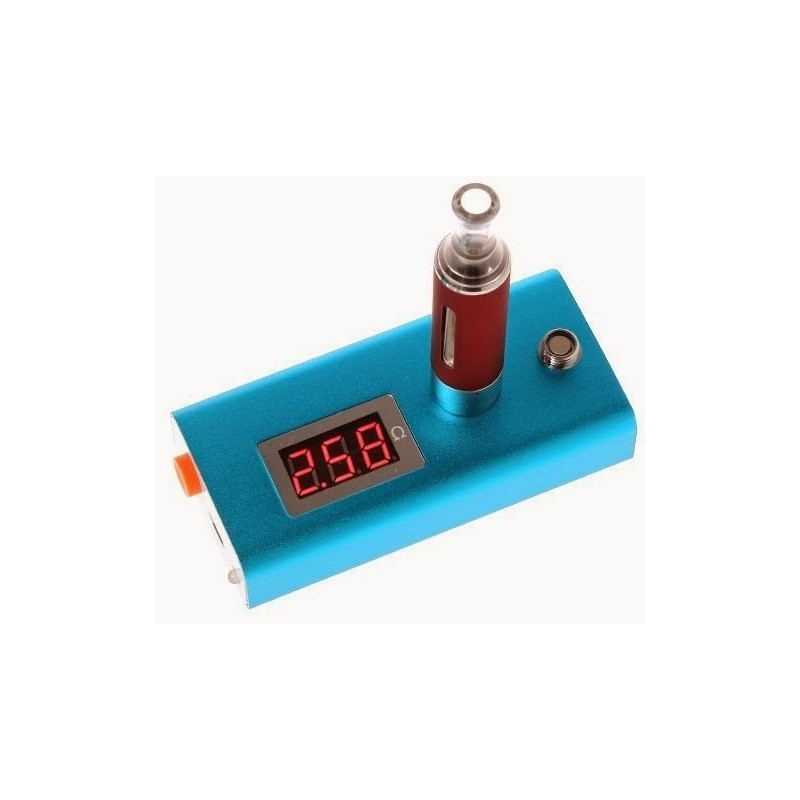 510/eGo Cartomizer and Atomizer Ohm Meter with micro usb charge