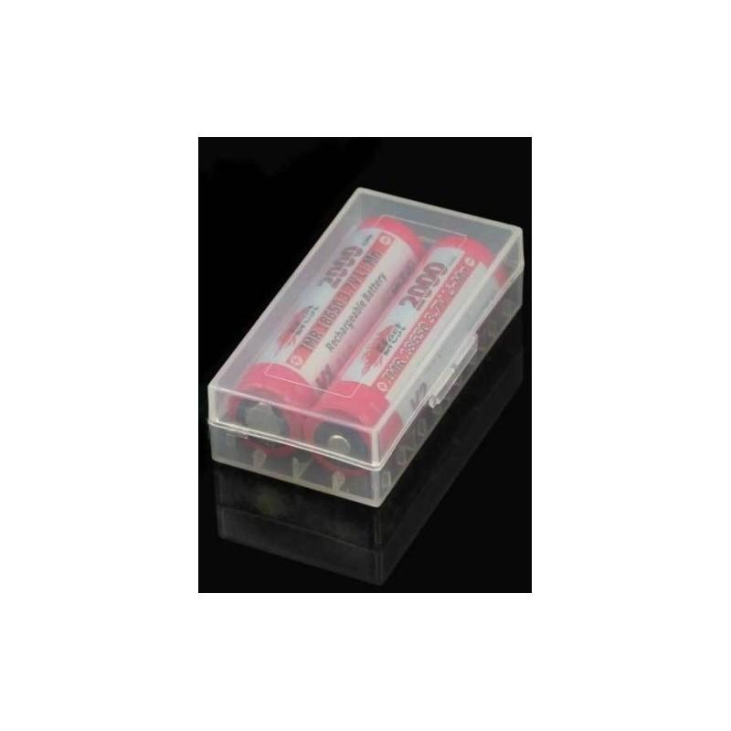 Cutie transport acumulatori 4x16340/2x18650 Efest