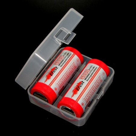 Efest 2x26650 battery carrying case