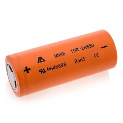 Mnke 26650 battery 3500mah Flat Top