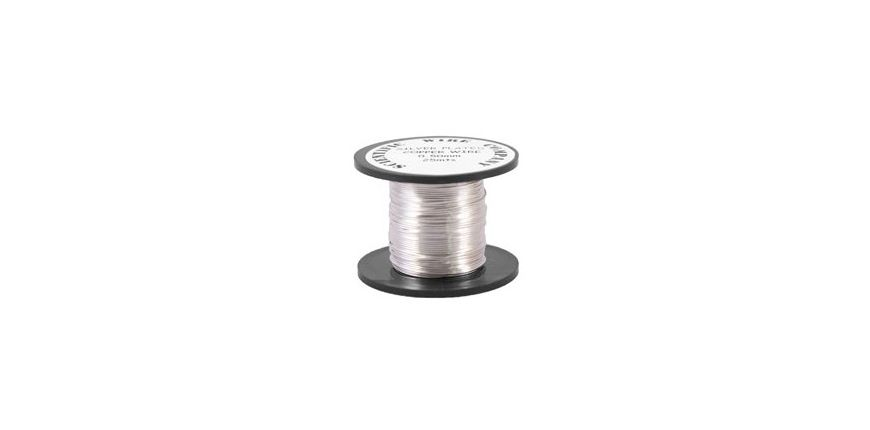 Silver wire for atomizer resistance
